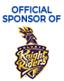 Official Sponsor of Kolkota Knight Riders