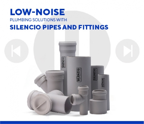 Low-Noise Industrial Plumbing Solutions With Silencio Pipe And Fittings