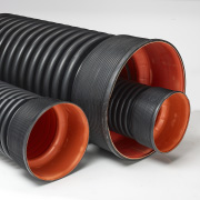 DOUBLE WALL CORRUGATED PIPE (3mtr.) SN4