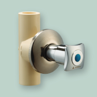 CONCEALED VALVE (CHROME PLATED) (SQUARE)