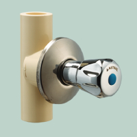 CONCEALED VALVE (CHROME PLATED FLOWER)