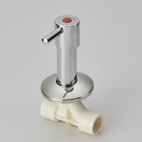 CONCEALED VALVE SWEPT TYPE (CHROME PLATED ROUND)