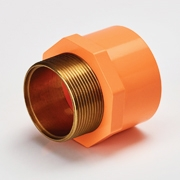 MALE ADAPTOR  BRASS THREAD