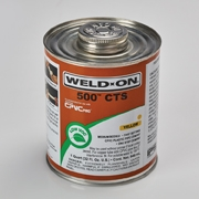 IPS WELD-ON 500 CTS ADHESIVES SOLUTION (YELLOW)