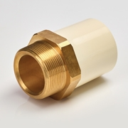 MALE ADAPTOR (BRASS THREADS)